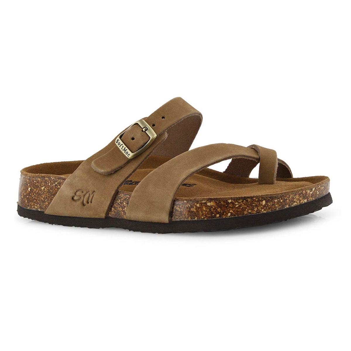 Lds Alicia 5 stone mem foam sandal