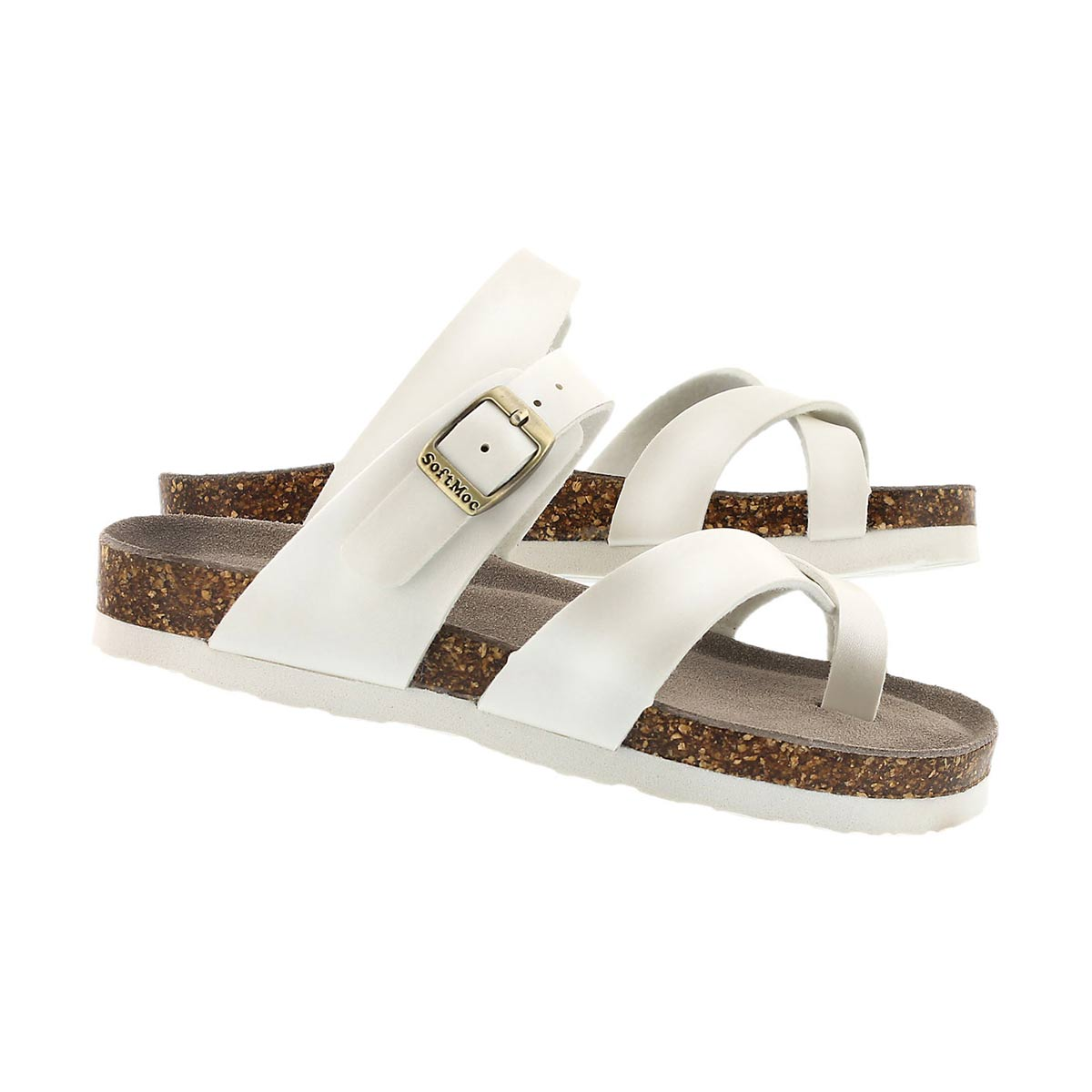 Grls Alicia moonstone toe loop sandal