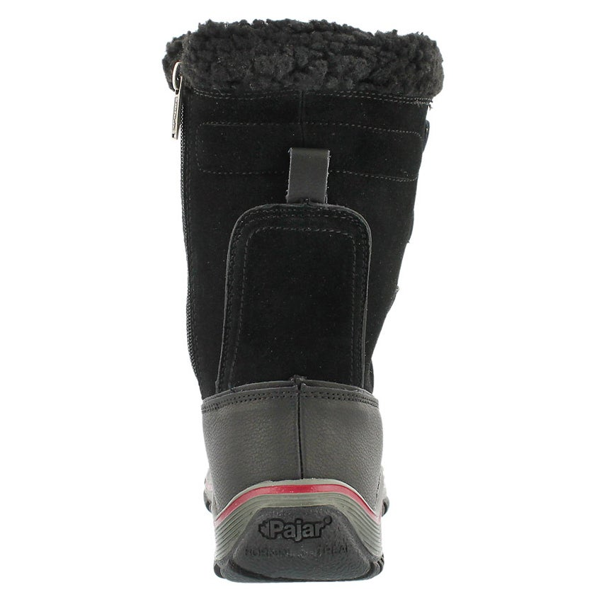 Lds Alina blk lace up wtpf winter boot