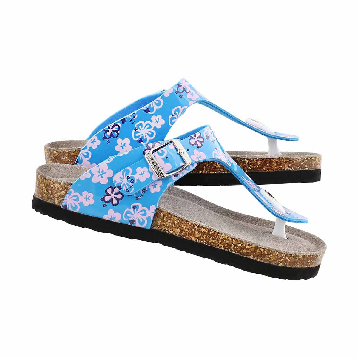 Sandale tong Alison2, bleu, filles