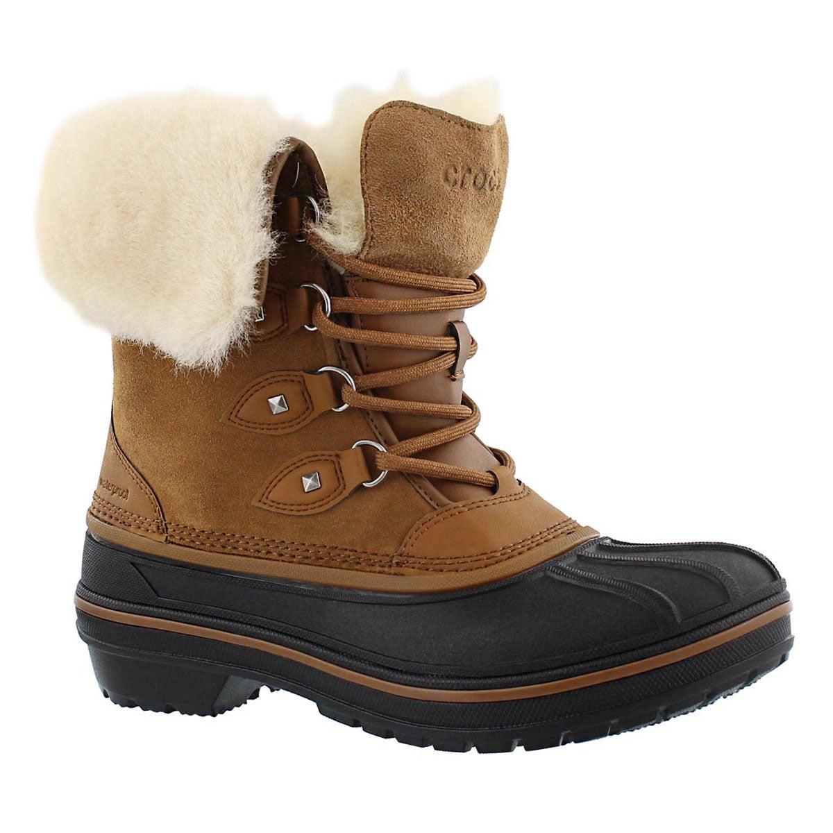 Women's ALL CAST II LUXE wheat winter boots