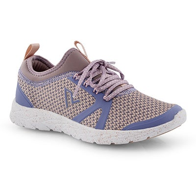 Lds Alma purple/multi lace up sneaker