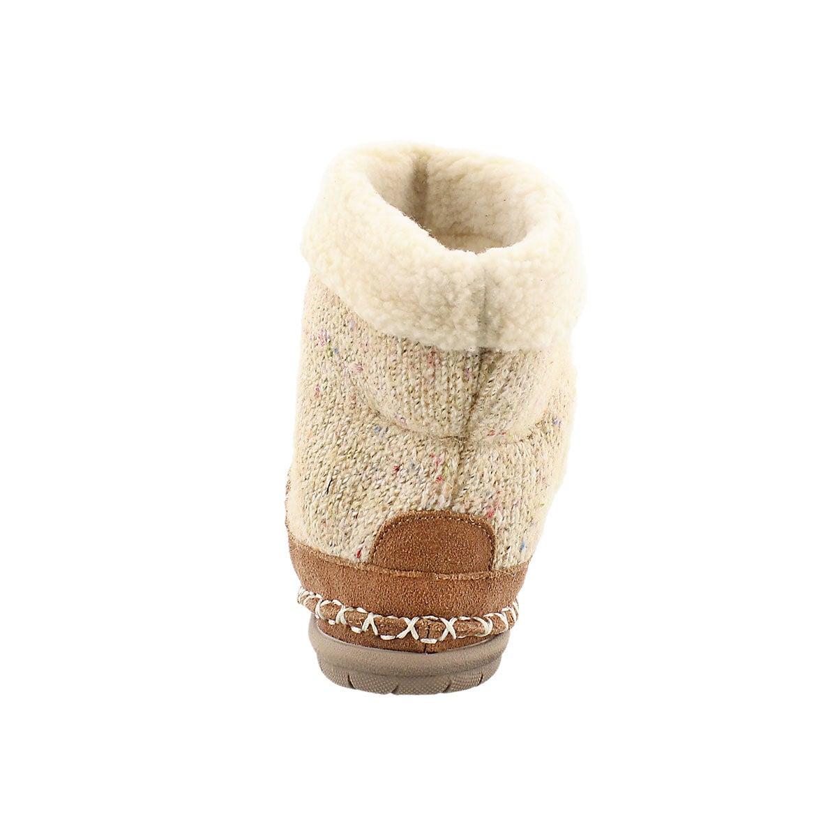 Lds Alpine tobacco bootie slipper