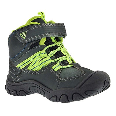 MAP Infants' ALPS charcoal casual boots