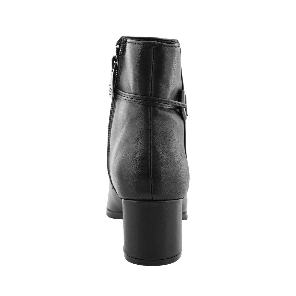 Lds Amanda blk wtpf zip dress boot