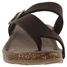 Lds Amber 3 brown crz memory foam sandal