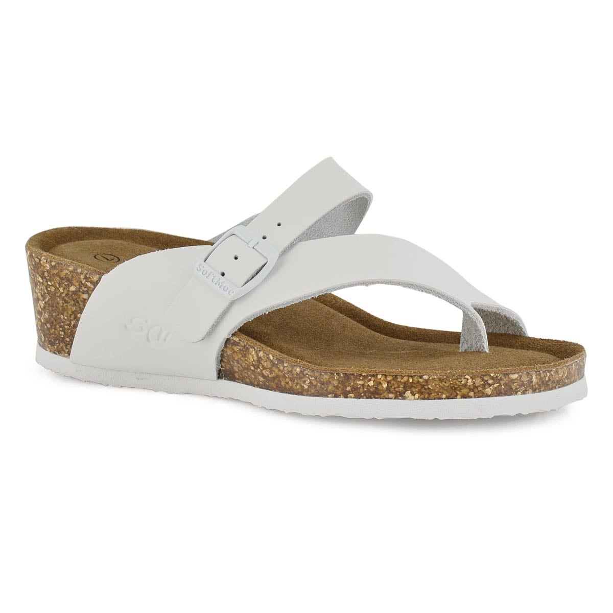 Women's ANDREA 5 white wedge sandals