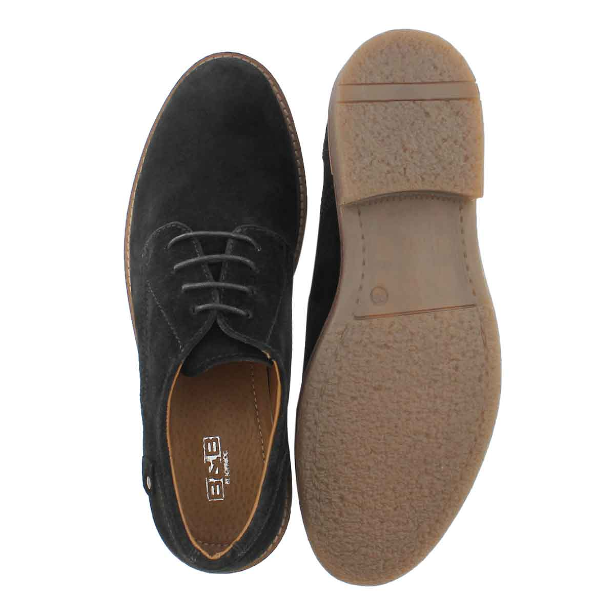 Mns Andy black lace up casual oxford