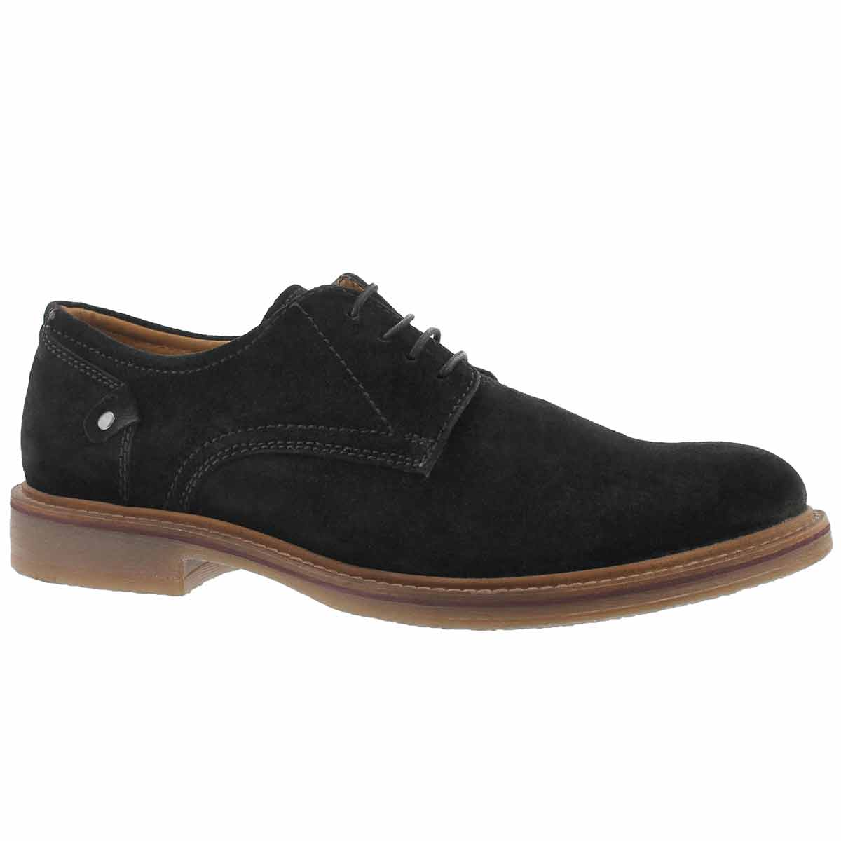 Men's ANDY black lace up casual oxfords