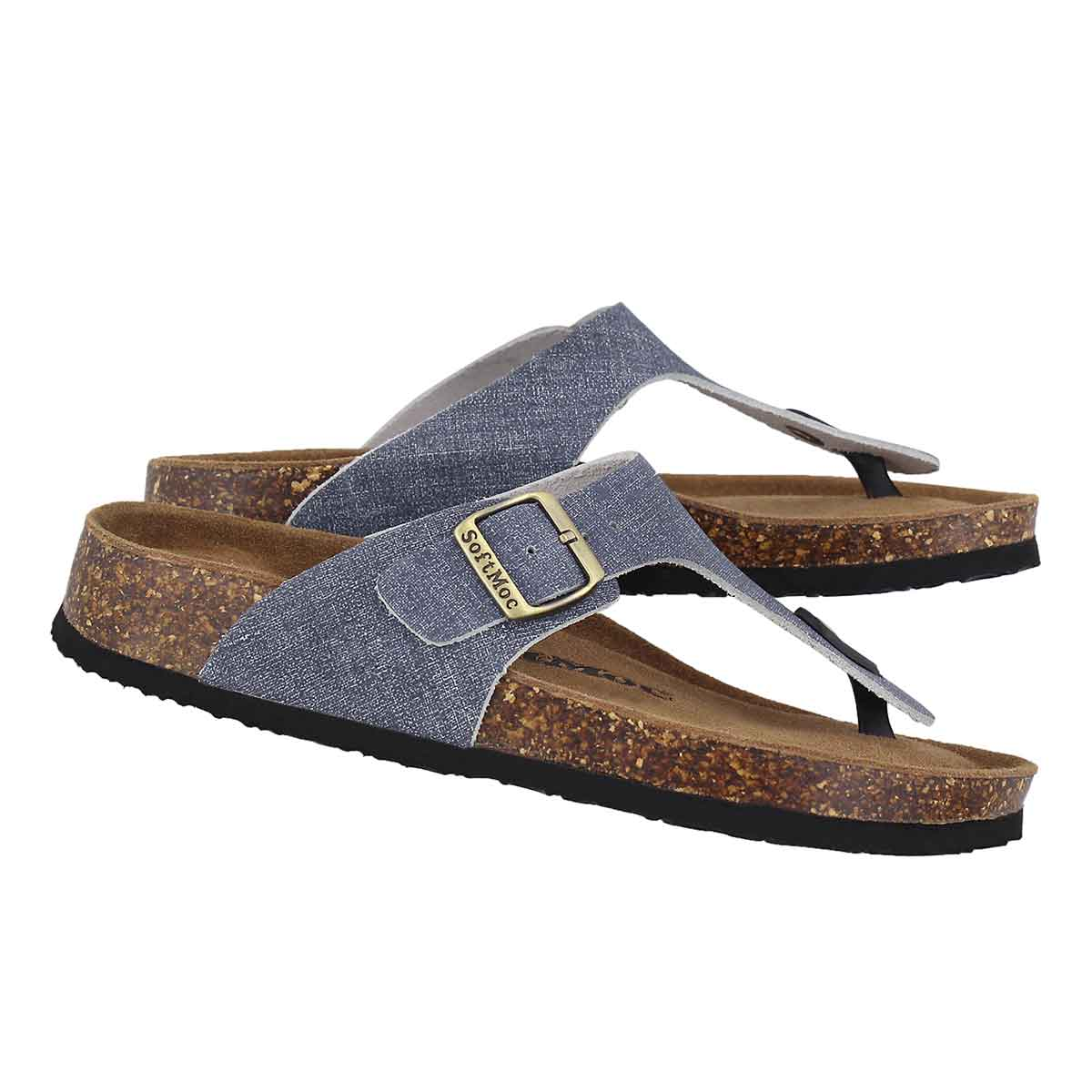 Lds Angy 5 denm memory foam thong sandal