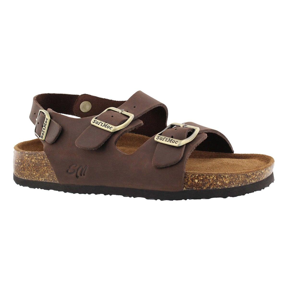 Women's ANIKA 5 brown memory foam sandals