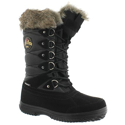Superfit Women's ANILA black waterproof tall winter boots