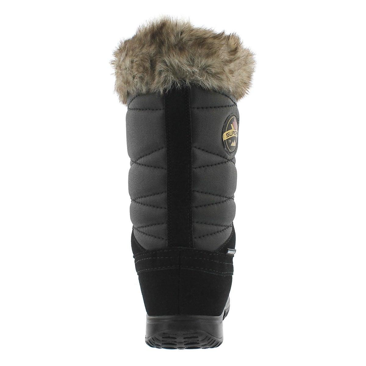 Lds Anila black wtrpf tall winter boot
