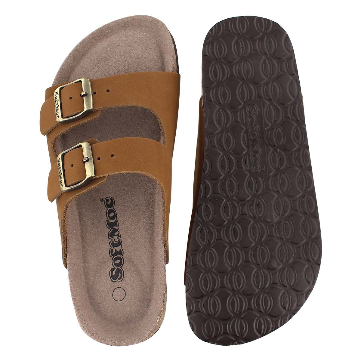 Lds Anna 3 tan crz memory footbed sandal