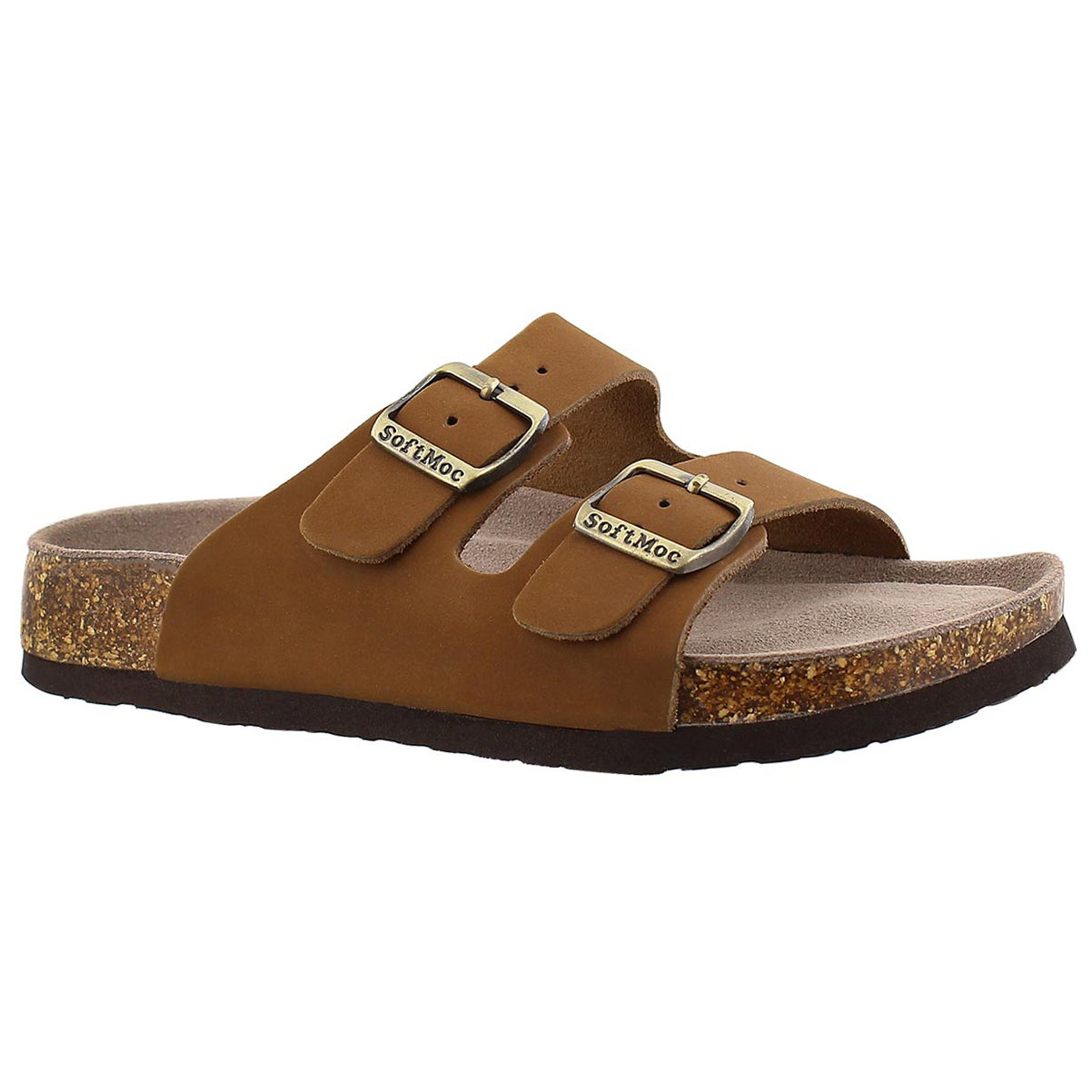 Women's ANNA 3 tan memory foam footbed sandals