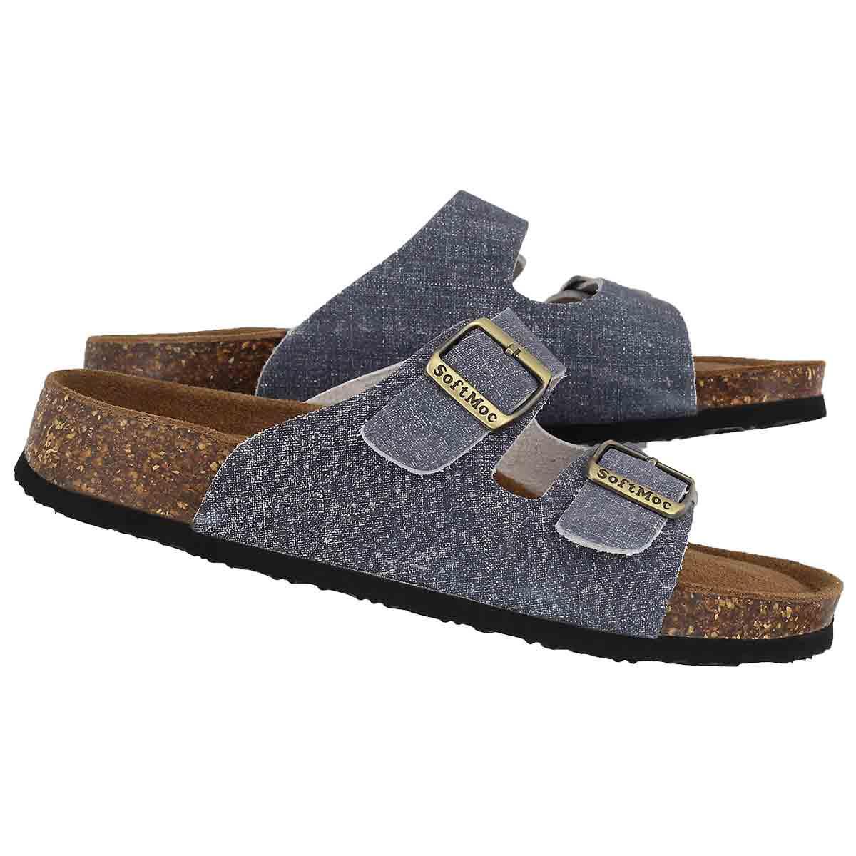 Lds Anna 5 denm memory foam slide sandal