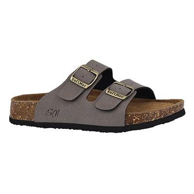 Lds Anna 5 PU tpe memory foam sld sandal