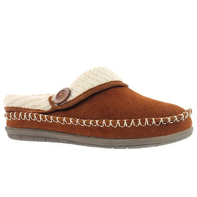 Foamtreads Women's ANNALISE spice open back slippers