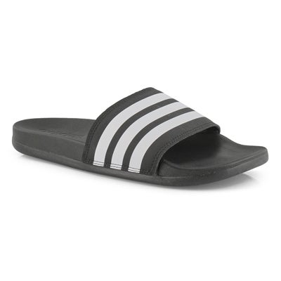 Lds Adilette CF+ Stripes W blk/wht slide