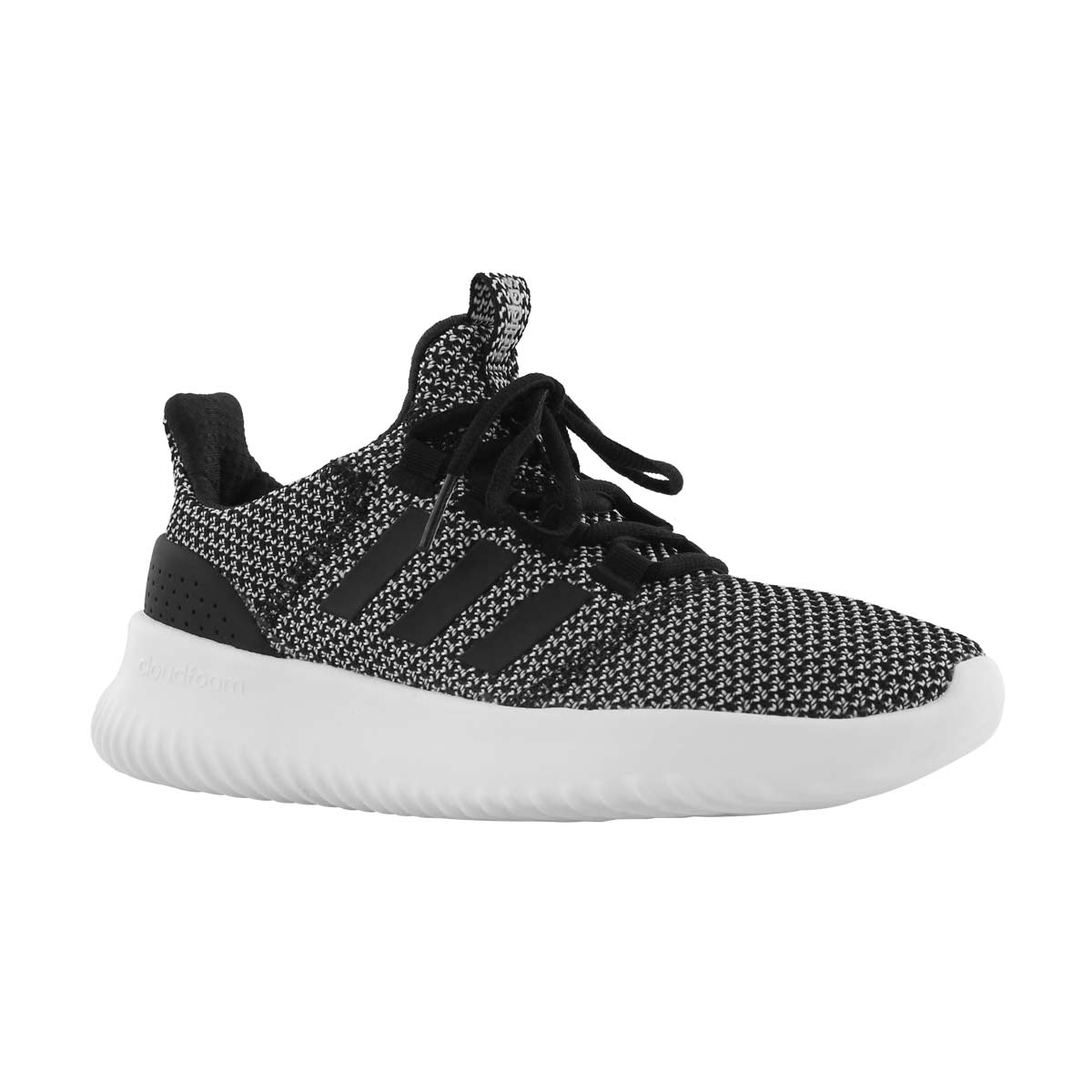 Chlds Cloudfoam Ultimate blk/slv runners