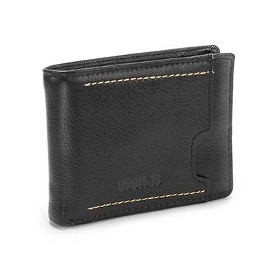 Roots Men's ARBOREA2-542 black billfold wallet