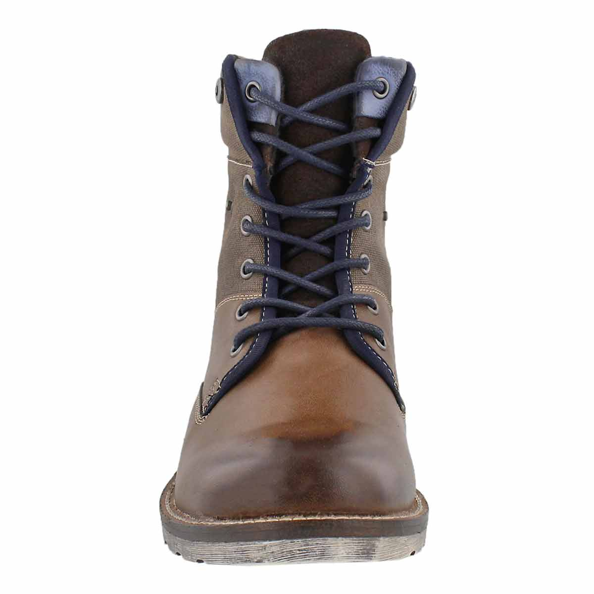 Mns Arco brown lace up ankle boot