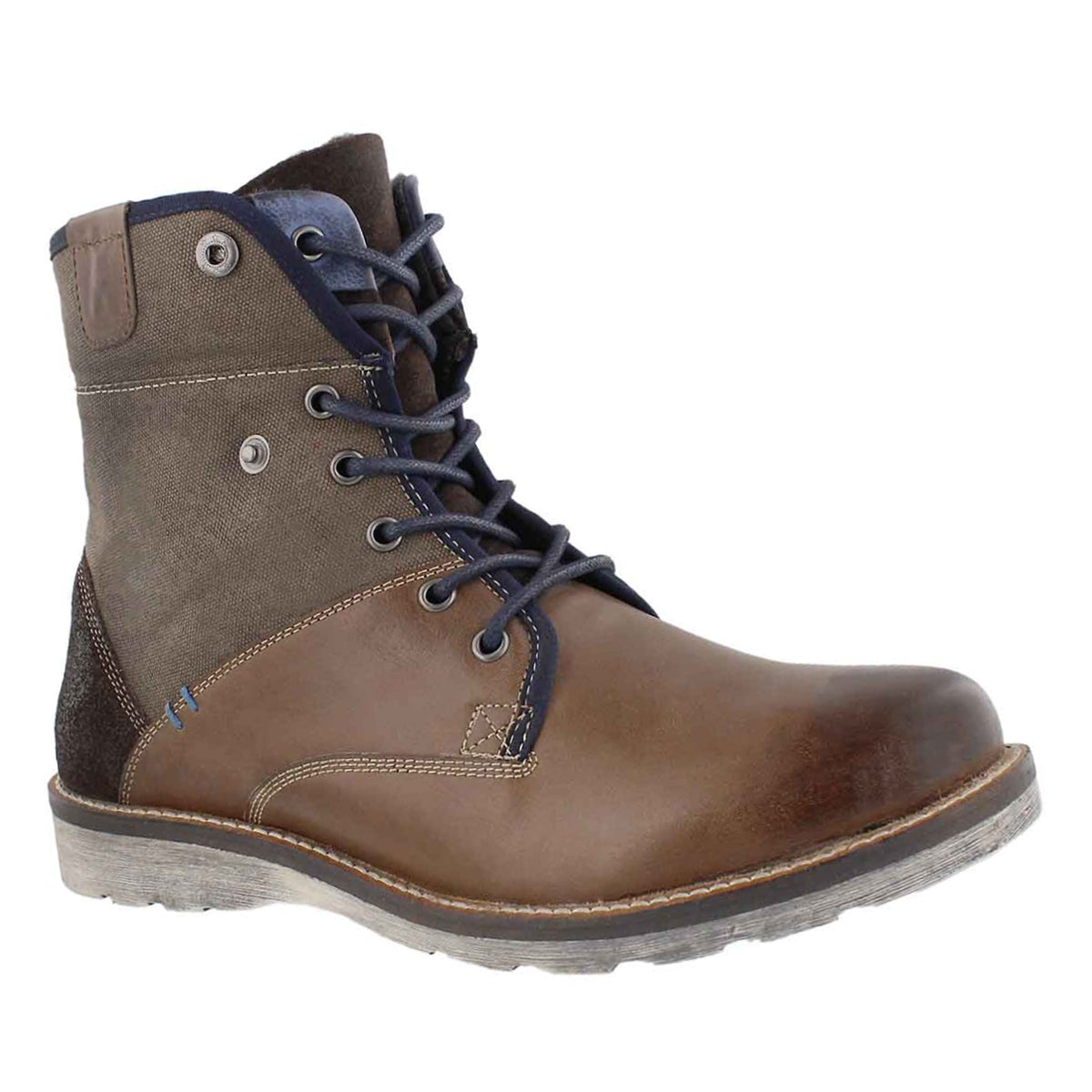 Men's ARCO brown lace up ankle boots