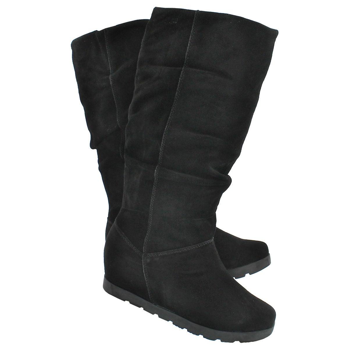 Lds Array black wtrpf tall zipper boot