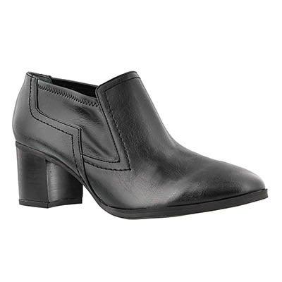 Franco Sarto Women's ASHLAND black slip on casual shoes