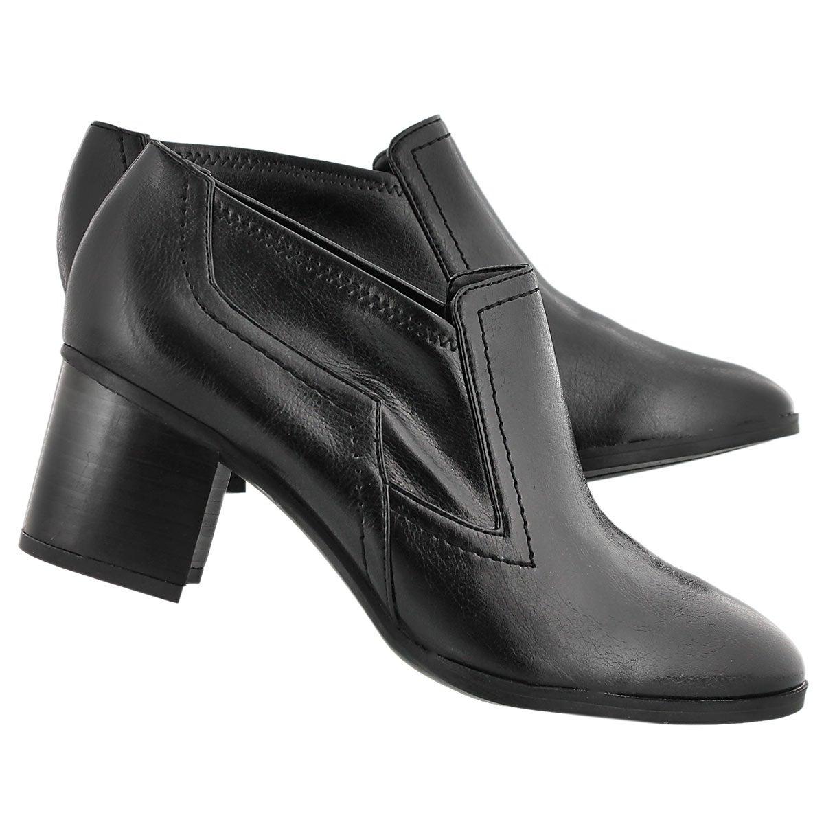 Lds Ashland blk slip on dress shoe