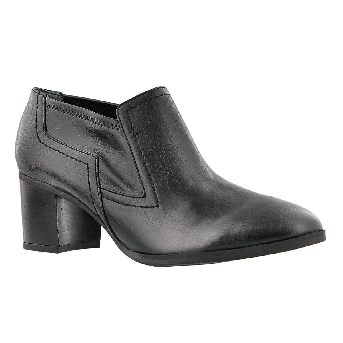 Lds Ashland blk slip on dress shoe