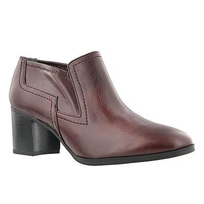 Franco Sarto Women's ASHLAND vino slip on casual shoes