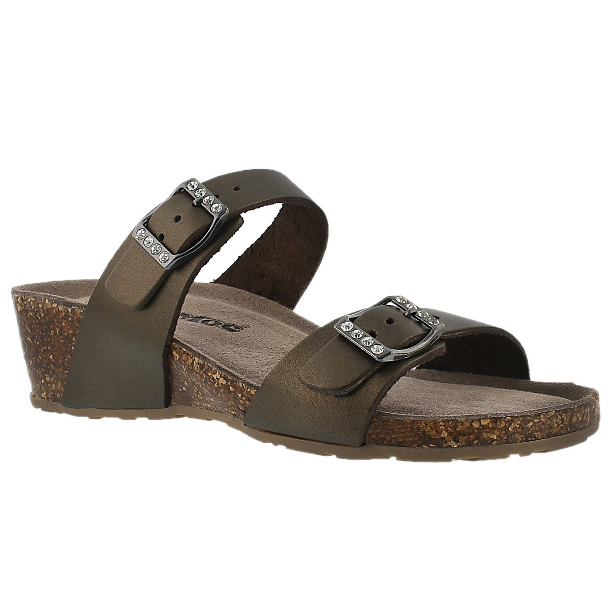 Women's ASHLYNN 2 gold memory foam sandals