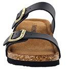 Lds Ashlynn 5 black memory foam sandal
