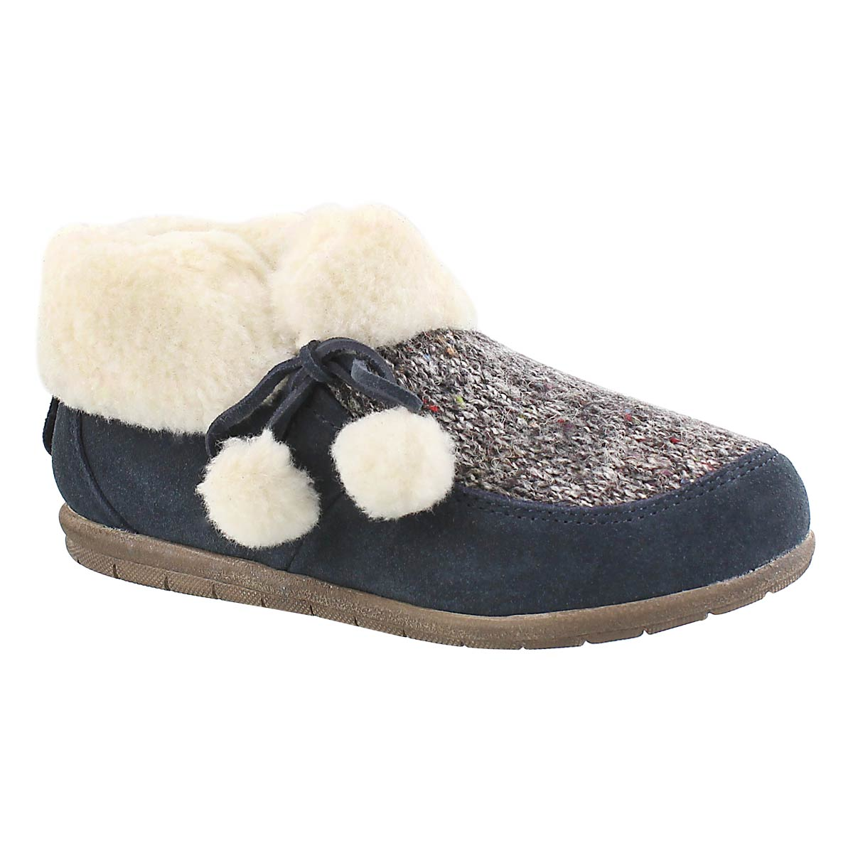 Lds Aspen midnight closed back slipper