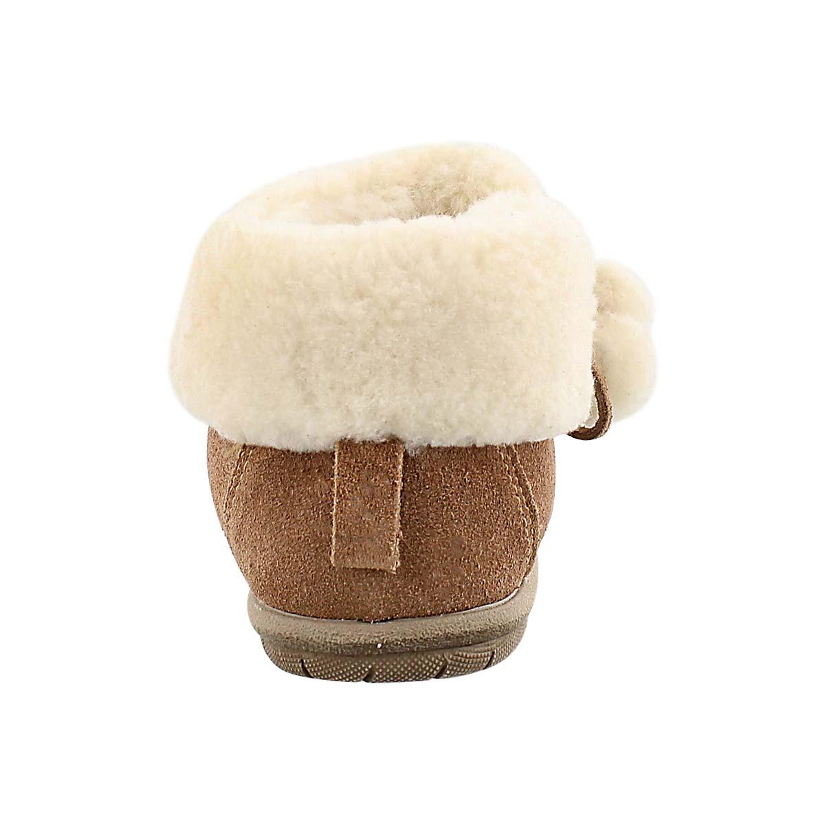 Lds Aspen tobacco closed back slipper
