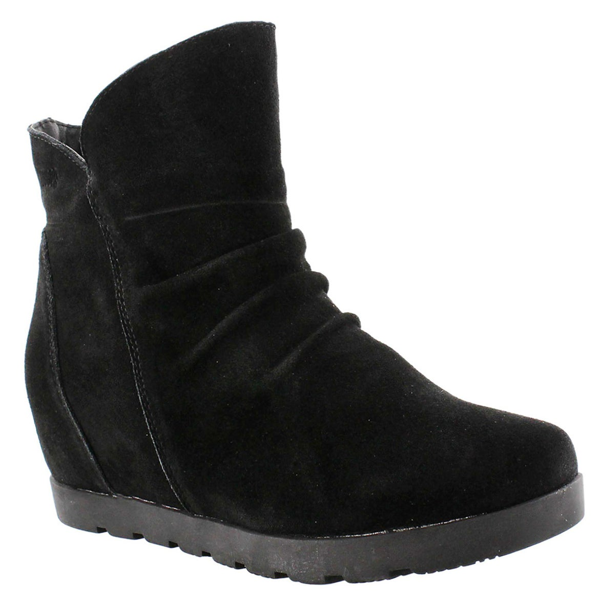 Lds Astro suede black wtpf ankle bootie