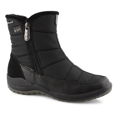 Lds Audrey black short wtpf winter boot