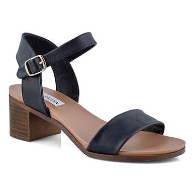 Sandale habillée August, noir, femmes