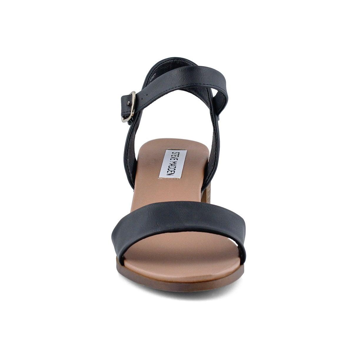 Lds August black dress sandal