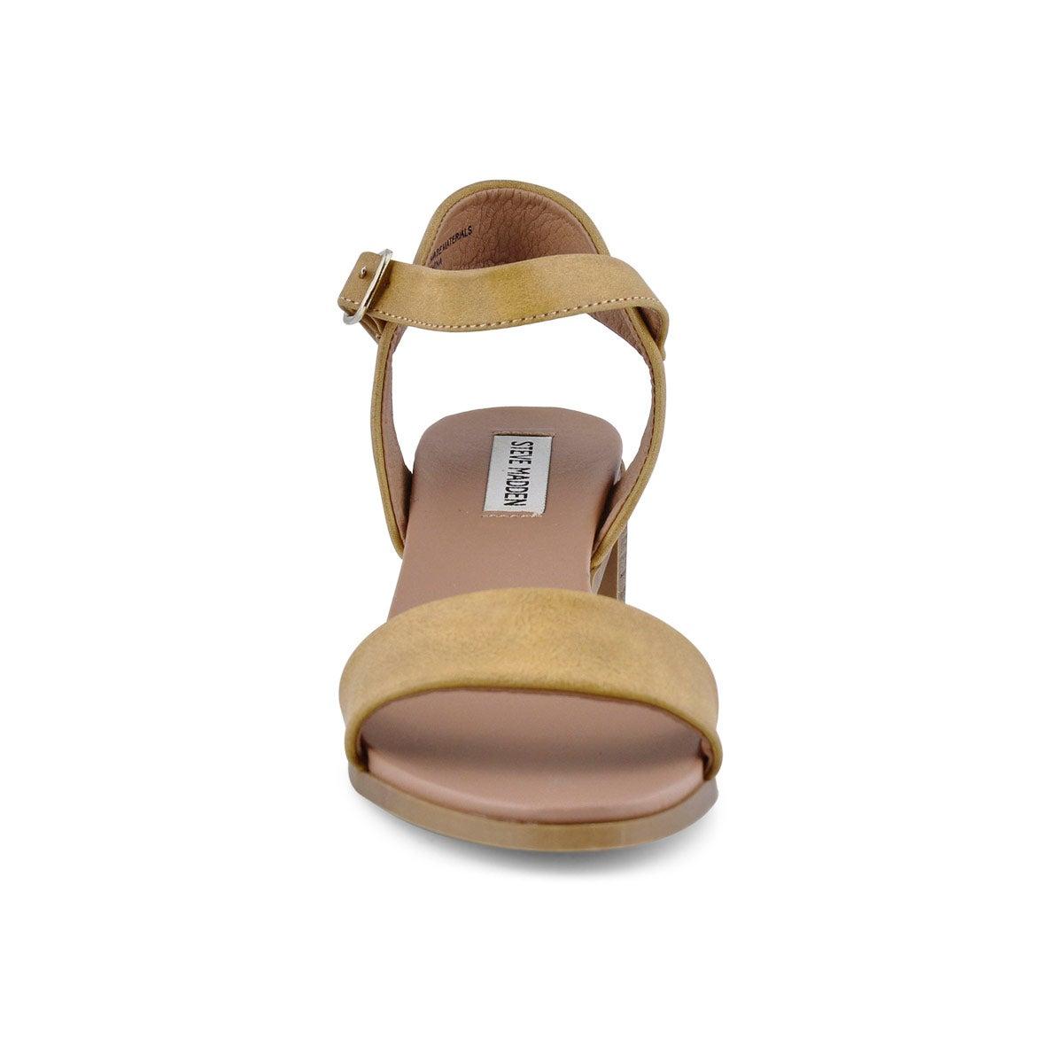 Lds August cognac dress sandal