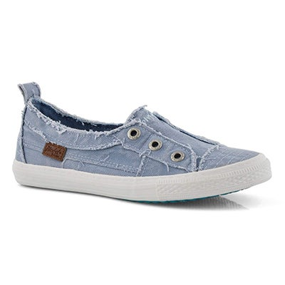 Lds Aussie blu slip on fashion sneakers