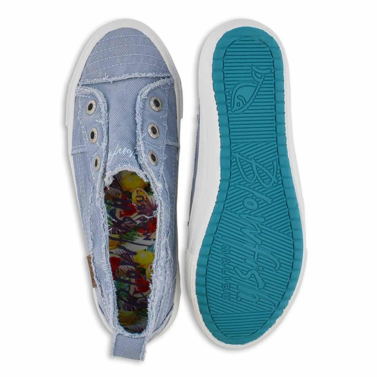 Lds Aussie blu slip on fashion sneakers