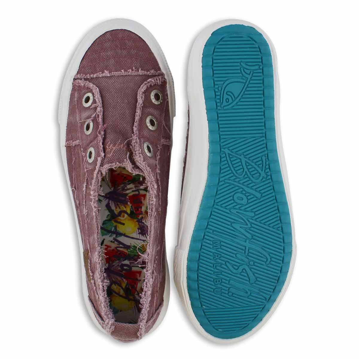 Lds Aussie lav slip on fashion sneakers