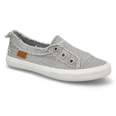 Lds Aussie sweet gry slipon fashion snkr