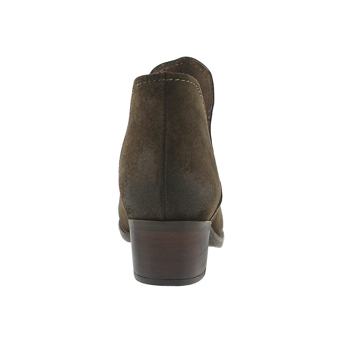 Lds Austin olive slip on ankle boot