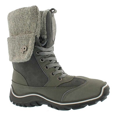 Lds Ava grey wtpf winter boot