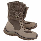 Lds Ava honey/dk brn wtpf winter boot
