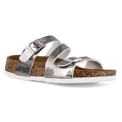 Sandale Avalon 5 Metallic, argent, fem.