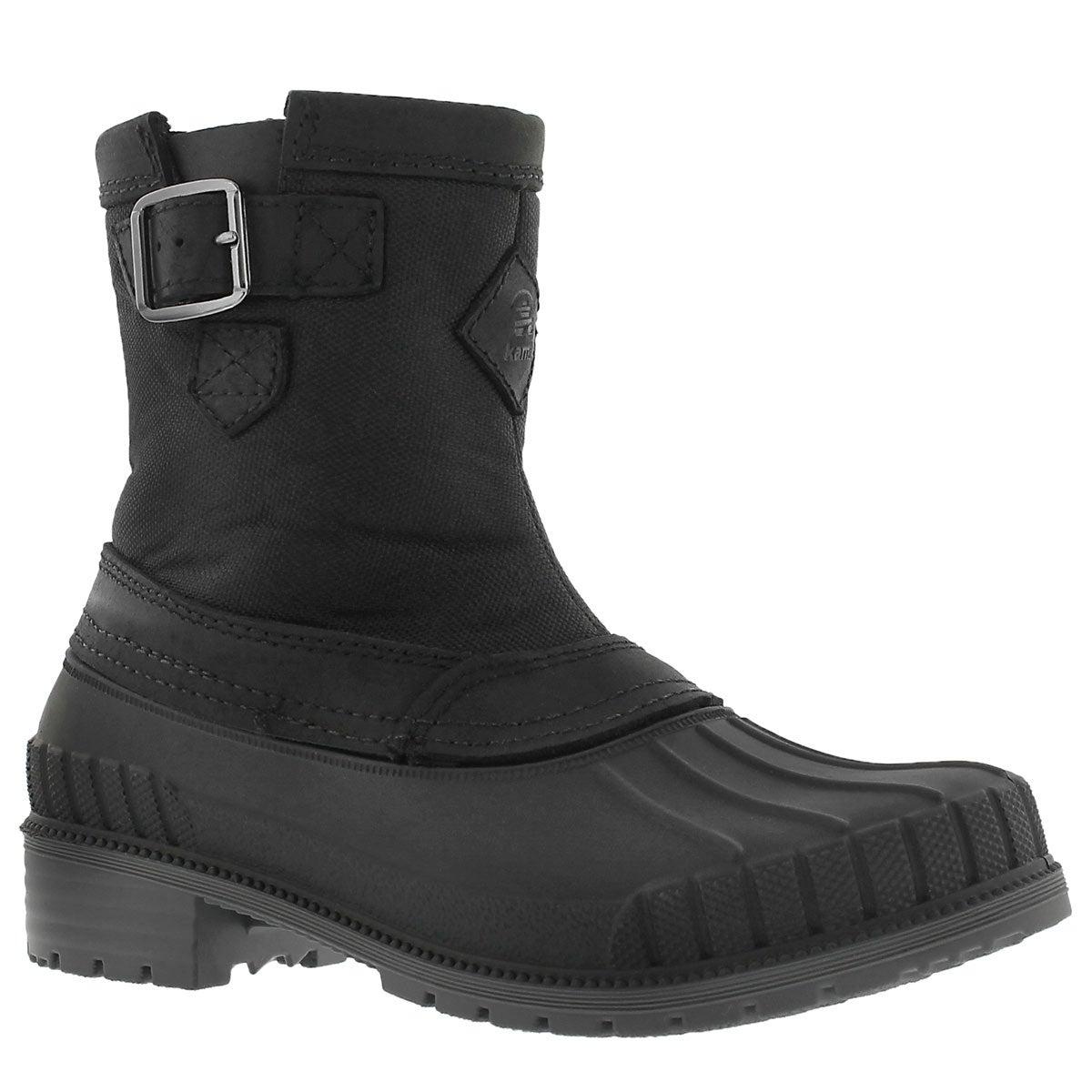Lds Avelle blk waterproof winter boot